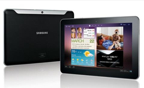 Samsung Galaxy Tab 10.1 hoàn toàn mới.