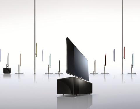 TV 3D của Loewe có tới ba phiên bản màu sắc khác nhau gồm trắng bóng, nhôm đen và nhôm bạc.