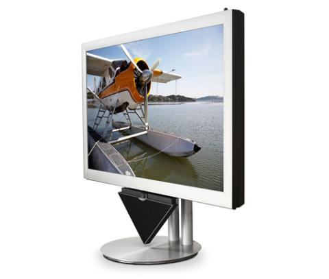 Mẫu TV 3D BeoVision4 103 inch của Bang & Olufsen sẽ có giá trên 100.000 USD. Ảnh: Flatpanelshd.