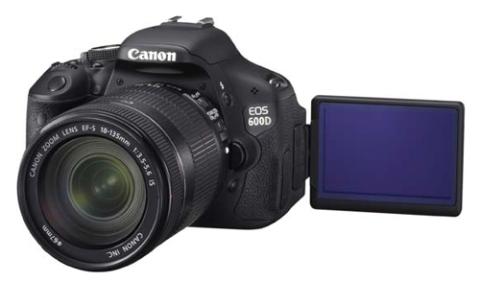 Canon EOS 600D.
