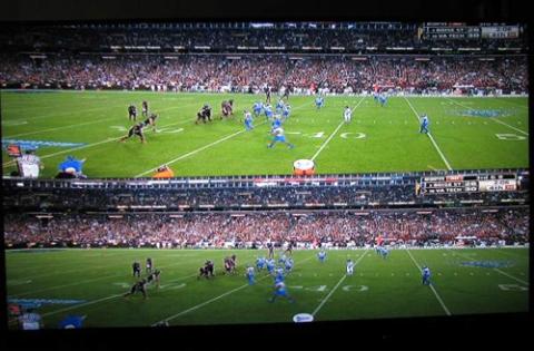 Định dạng Top-and-bottom cho hình ảnh 3D thể thao đẹp hơn.