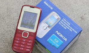 'Đập hộp' Nokia C2 hai sim