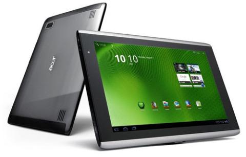 Acer Iconia Tab A500 sẽ được nâng cấp lên Android 3.2 trong vòng vài tuần tới. Ảnh: Tablet-Planets.