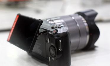 Sony NEX-C3, bản cải tiến dành cho nữ
