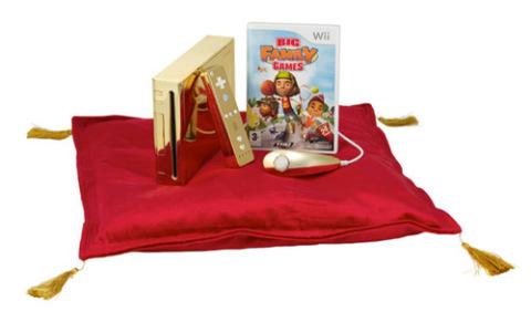 Máy game Nintendo Wii dành cho nữ hoàng Anh.