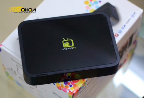 """Android TV Box có thể mở rộng thêm nhiều tính năng """"thông minh"""" cho HDTV thông thường."""