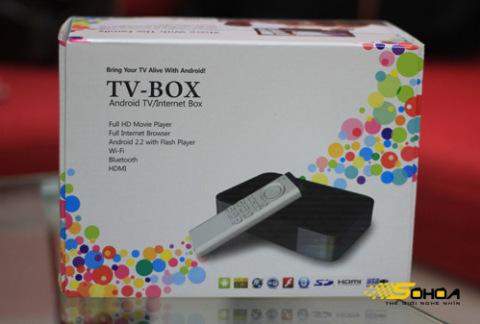Android TV Box là chiếc đầu giải trí đa năng dành cho HDTV.