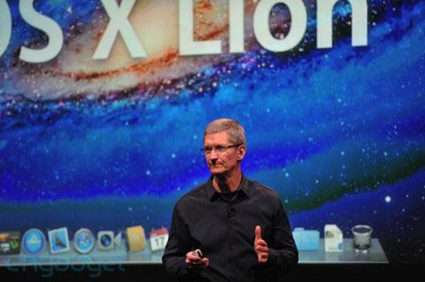 CEO Apple nói về sự thành công của hệ điều hành máy tính mới. Ảnh: Engadget.