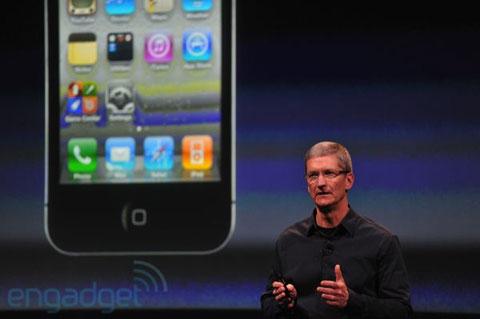 iPhone 4 là sản phẩm thành công của Apple. Ảnh: Engadget.