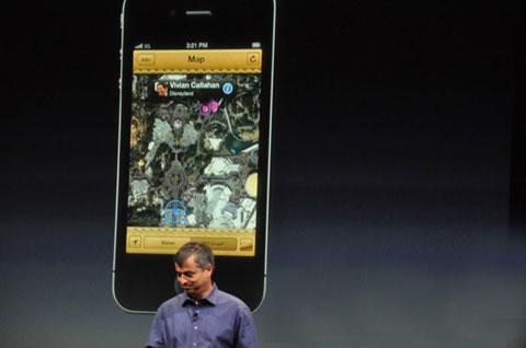Eddy Cue giới thiệu về iCloud. Ảnh: