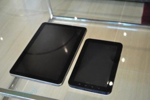 Galaxy Tab 10.1 bị Apple cáo buộc vi phạm bằng sáng chế trên iPad. Ảnh: Hitechnogadget.