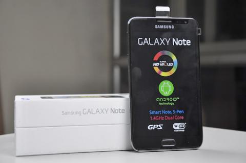 Galaxy Note có giá cao nhất trong số các smartphone Android hiện tại. Ảnh: CellphoneS.