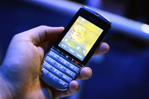 Nokia Asha 300.