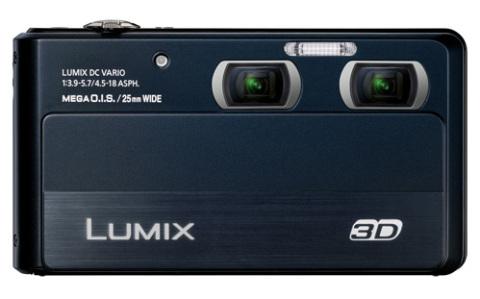 Lumix 3D1 với màn hình cảm ứng lớn.