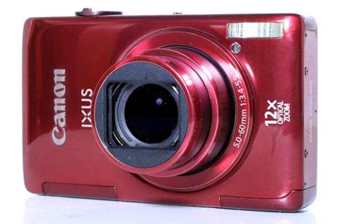 Canon IXUS 1100HS là máy compact có màn hình cảm ứng cao cấp nhất của Canon. Ảnh: