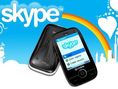 Chat Skype với Wi-Fi trên P4i.