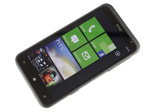 HTC Titan có màn hình 4,7 inch độ phân giải 480 x 800 pixel như ở HTC Sensation XL chạy Android.