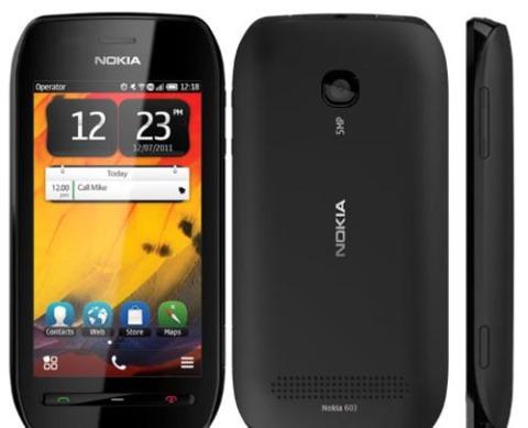 Nokia 603 chạy Symbian Belle và hỗ trợ tính năng NFC.