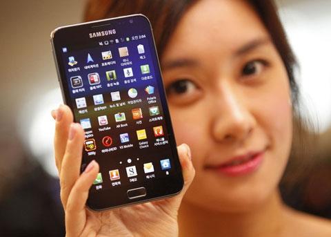 Samsung là hãng smartphone có doanh số tốt nhất thế giới. Ảnh: Daylife.
