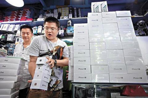 iPhone 4S hiện có mặt ở Trung Quốc qua đường