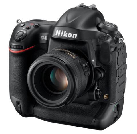 Nikon D4.