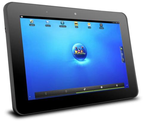 Viewsonic 10pi và 10e cùng sử dụng màn hình 10 inch cùng vi xử lý Oak Trail z670.