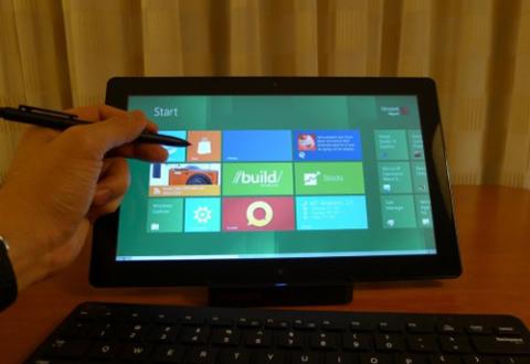 Tablet Windows 8 có thể không có Office 15. Ảnh: Slashgear.