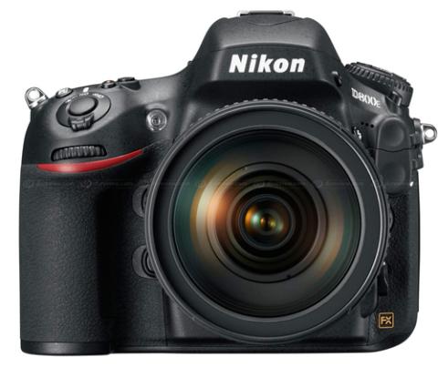 Nikon D800E.