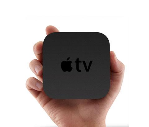 Apple TV nhỏ gọn trong tay nhưng không
