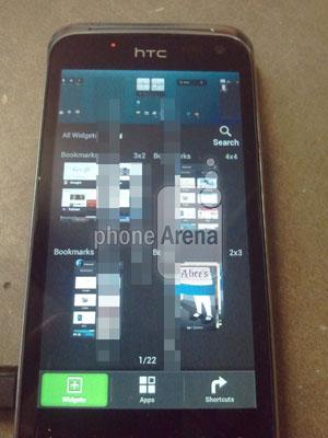 Mẫu điện thoại chưa được biết tên của HTC.