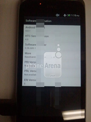 Android 4.0.1 và Sense 4.0.
