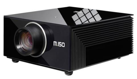 SIM2 M.150 được giới thiệu là máy chiếu LED 3D công nghệ chủ động đầu tiên thế giới.