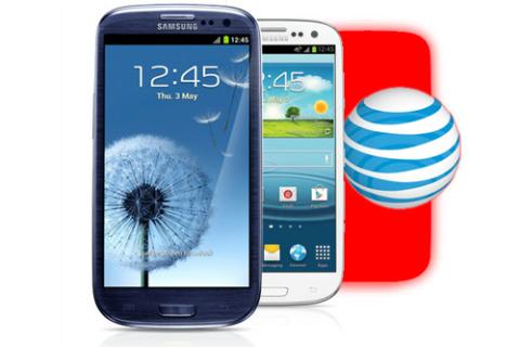 Galaxy S III của AT&T sẽ có thêm màu đỏ. Ảnh: Slashgear.