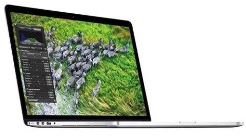 Màn hình retina cũng được trang bị trên MacBook Pro 2012.