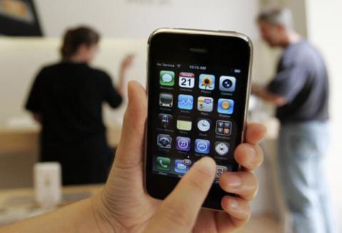 iPhone 3GS với kiểu dáng giống như 3G tiền nhiệm.
