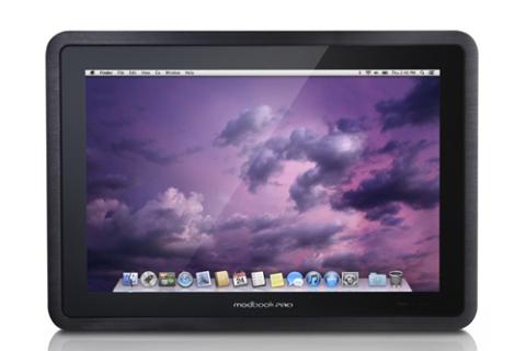 ModBook Pro chạy hệ điều hành OS X. Ảnh: Slashgear.