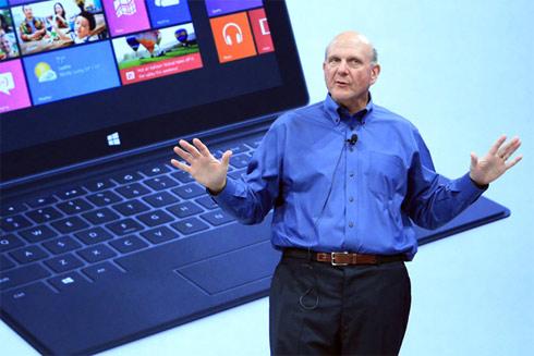Microsoft đang hứa hẹn chuyển mình với Windows 8 và tablet Surface.