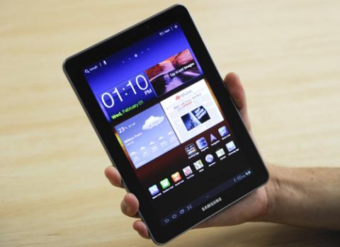 Galaxy Tab 7.7 vừa được lên Android 4.0 tại Áo.