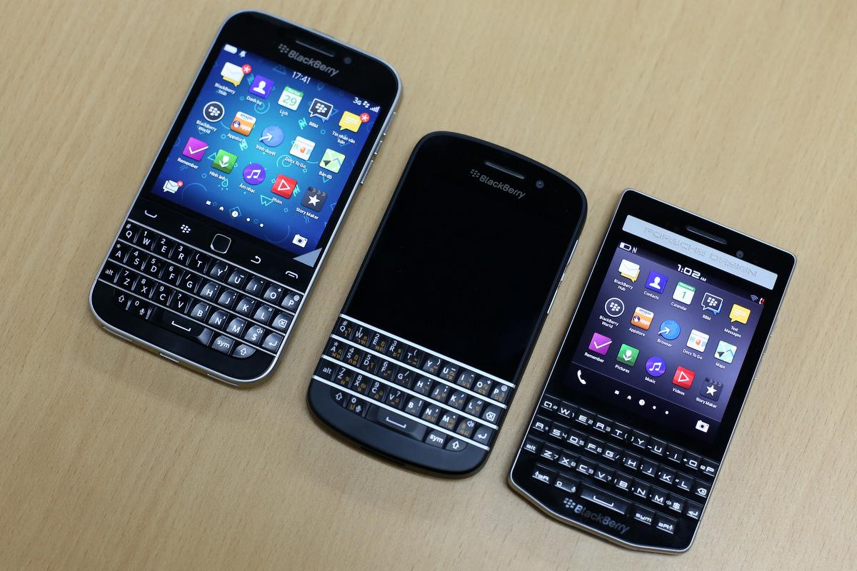 Bộ ba dáng truyền thống BlackBerry Classic - Q10 - Porsch 9983