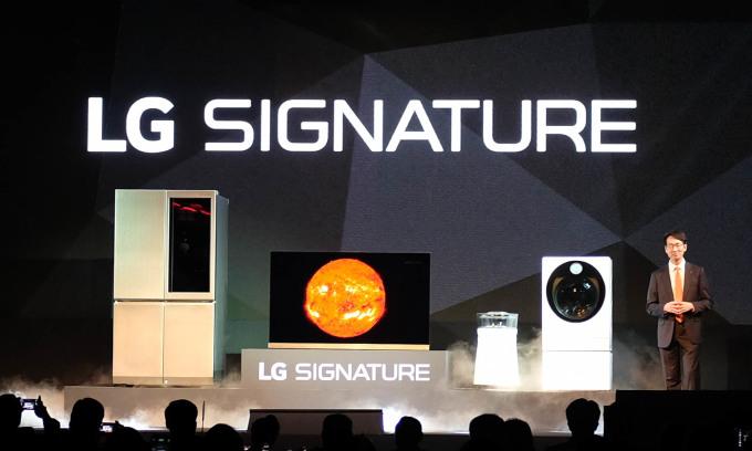 LG ra mắt loạt sản phẩm cao cấp mới tại châu Á