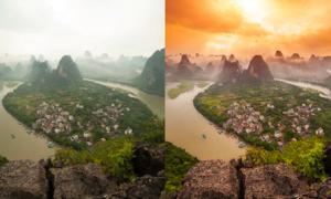 Sự lột xác của phong cảnh qua tay của nhiếp ảnh gia