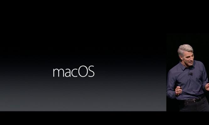 Những thay đổi trên macOS Sierra