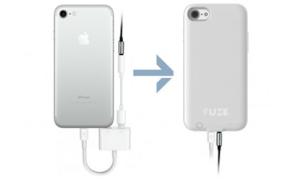 Ốp lưng mang cổng tai nghe 3,5mm trở lại cho iPhone 7