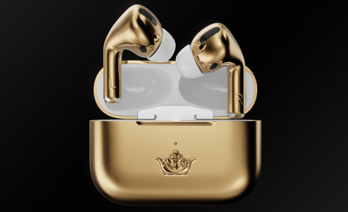 AirPods Pro Gold Edition - Tai nghe true wireless đắt nhất thế giới