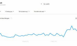 'Thời tiết' dẫn đầu danh sách tìm kiếm Google