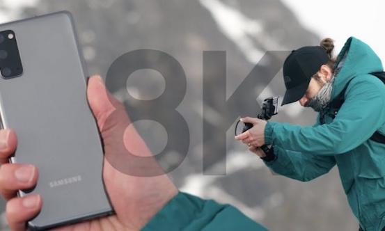 Galaxy S20+ quay video 8K tại Vòng Bắc Cực