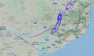 Đường bay 'né' Tân Sơn Nhất 'gây bão' mạng xã hội