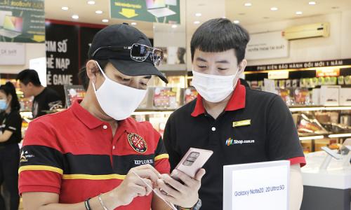 Quà tặng cho khách đặt mua Galaxy Note20 tại FPT Shop
