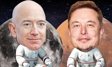 Tham vọng 'điên rồ' của Musk và Bezos