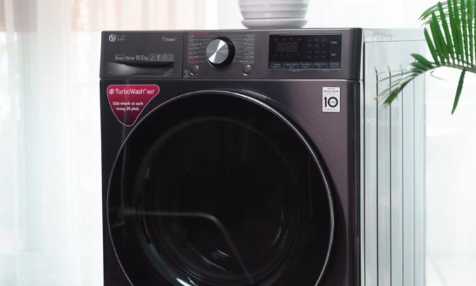Máy giặt thông minh tự tính toán chế độ, lượng nước